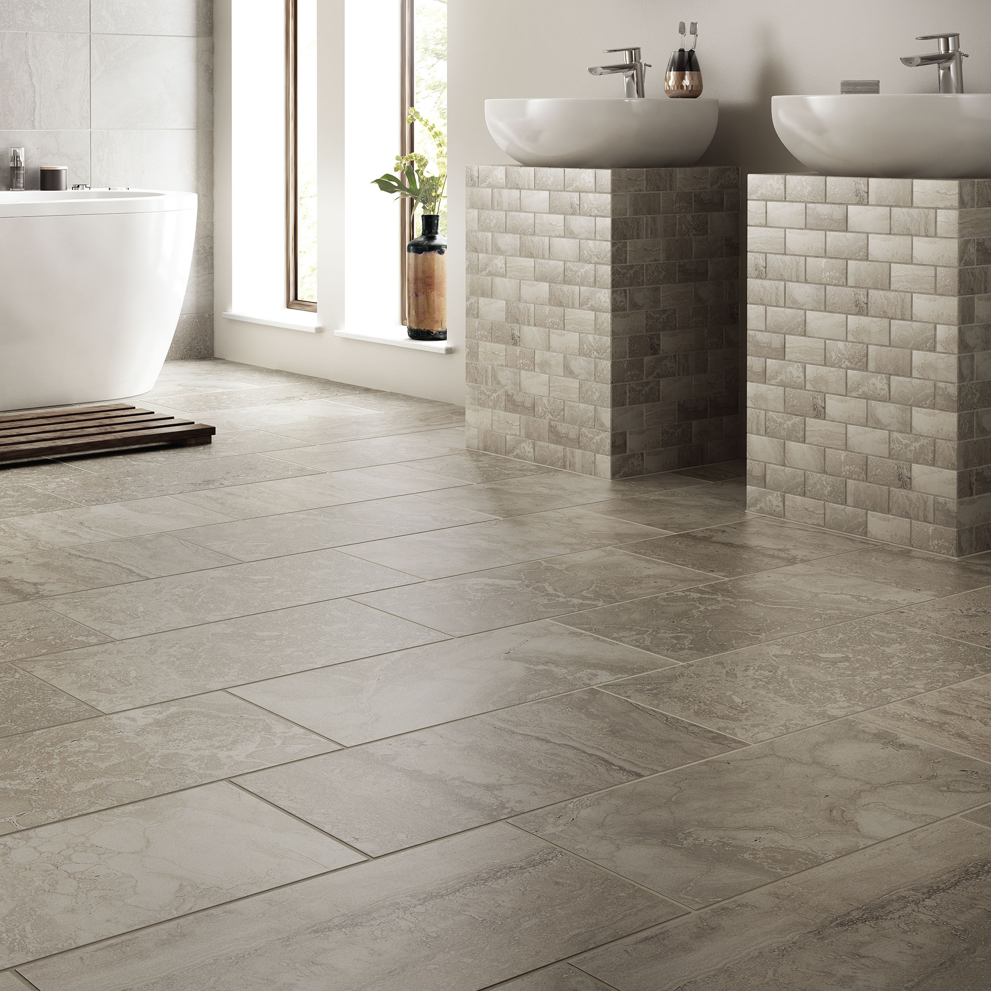 Room Scene of Exquisite - Tile by Daltile