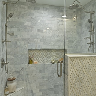 Tips For Natural Stone Tile In The Shower Daltile