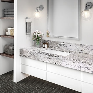 Best Countertop For Bathroom Vanities, Bathroom Granite Vanity Tops