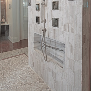 Yes You Can Have Natural Stone Tile In The Shower Daltile