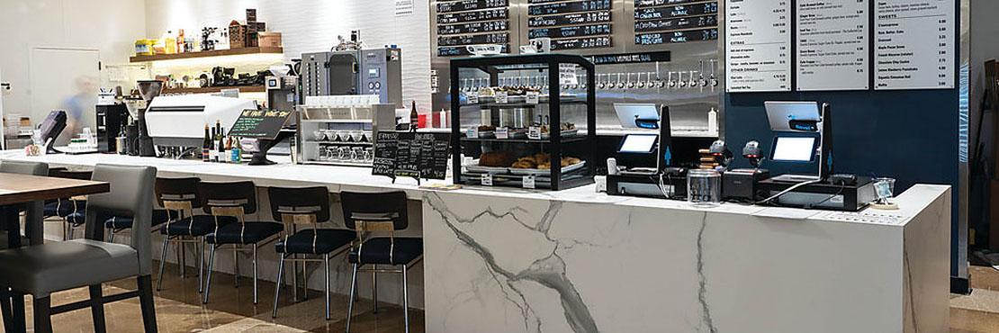 Visually Immersive Experience In North Dallas Cafe Daltile