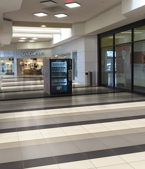 After photo of Briarwood Mall