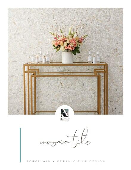 Mosaic tile by Daltile. Porcelain and ceramic tile design.