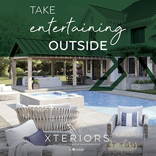Take Entertaining Outside. Xteriors: All-Weather Solutions for Exterior Style