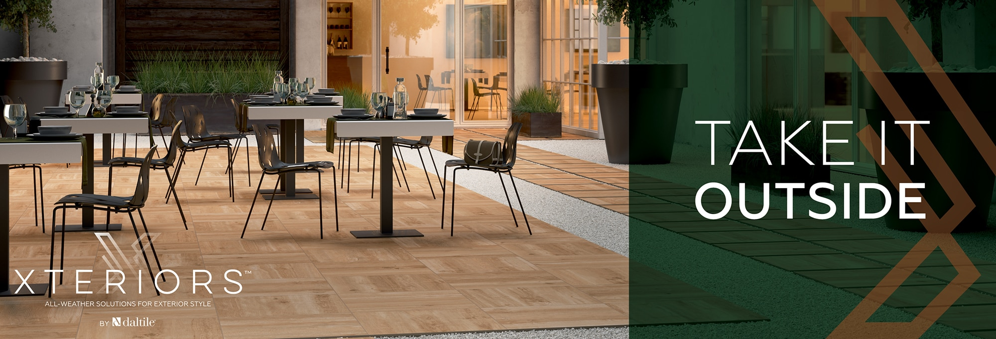 Take It Outside. Xteriors: All-Weather Solutions for Exterior Style