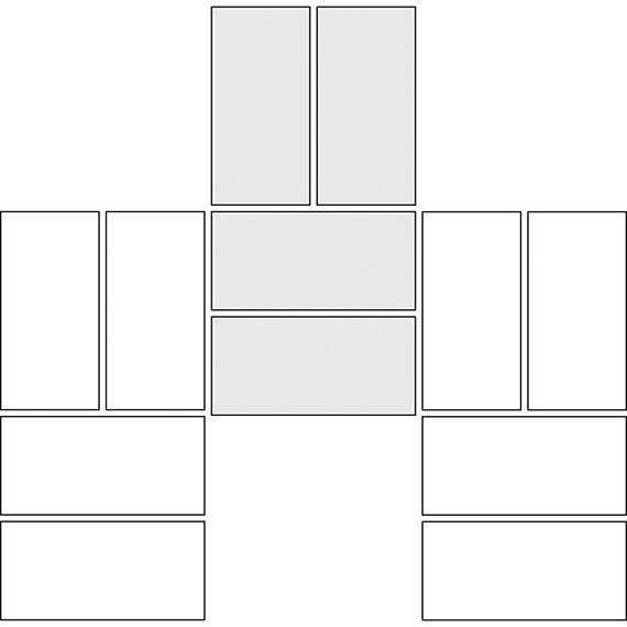 Basket weave tile pattern guide