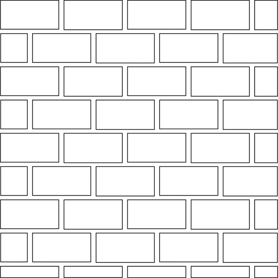 Brick joint pattern guide