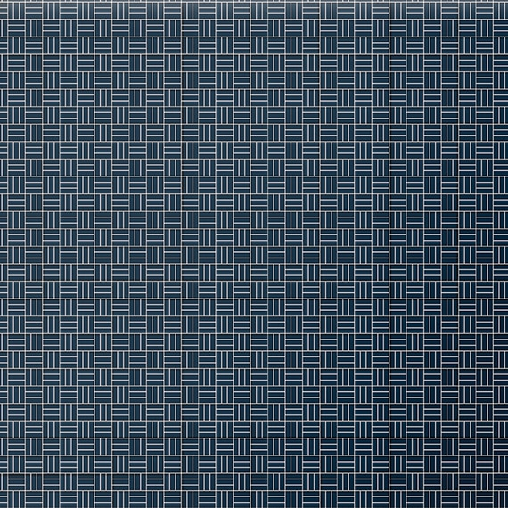 Daltile Mosaic Color Wheel Mosaic in Navy K189