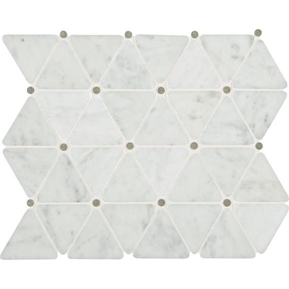 DTN_M701_2_75x2_5_Triangle_CarraraWhite_swatch