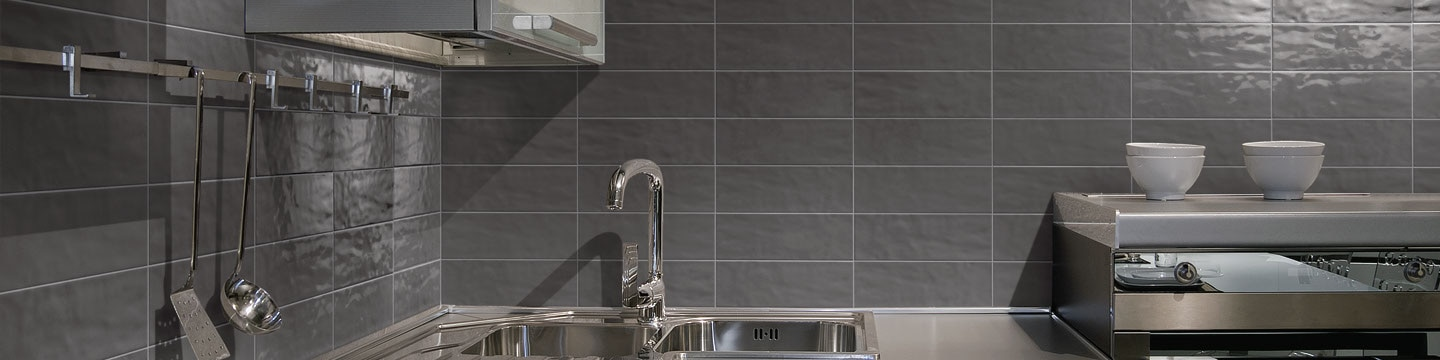 Subway wall tile Middleton Square in Steeple Gray