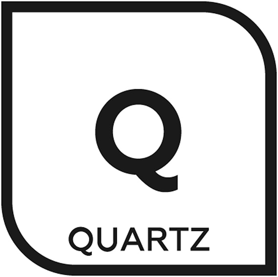 An icon representing quartz tile with the letter Q